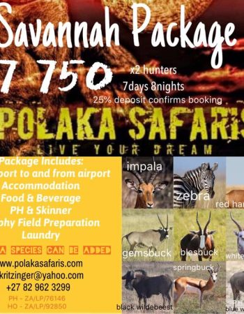Polaka African Safaris – South Africa and Mozambique Plains Game, Big Game and Dangerous Game Trophy Hunting Safaris