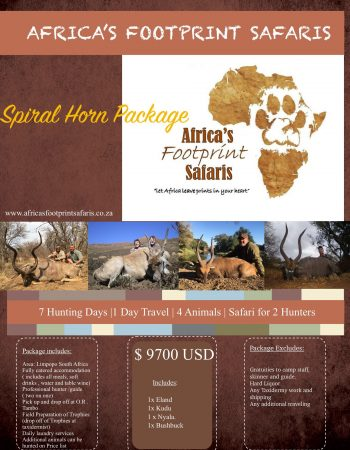 Africa's Footprint Safaris – Hunting Safaris in Mozambique, Zimbabwe, Namibia and South Africa