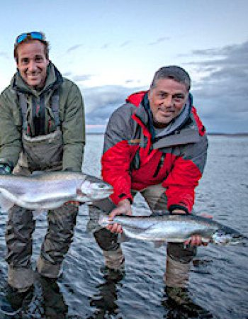 Patagonia Trout Fishing Lodge – Chartered Flights Remote Fly-in Luxury Fishing Lodge on the Barrancoso River