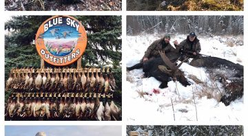 Alberta Hunting Outfitters and Lodge – Fully-Guided Duck, Goose, Coyote, Timber Wolf, Moose and Woodland Bison Hunts 2021 and 2022